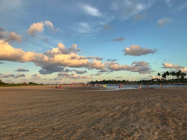 Pontal Do Maracaípe - buggy em porto de Galinhas