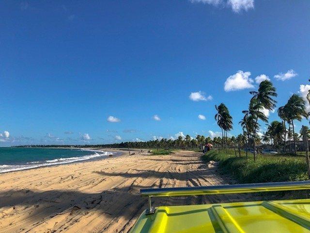 Praia De Maracaípe - buggy em porto de galinhas