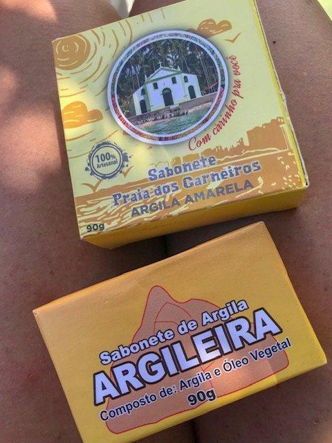 Argilas Em Sabonetes