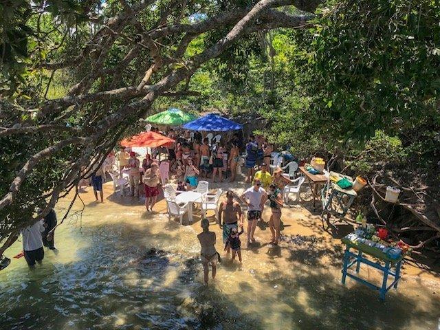 Banho De Argila Na Praia Dos Carneiros