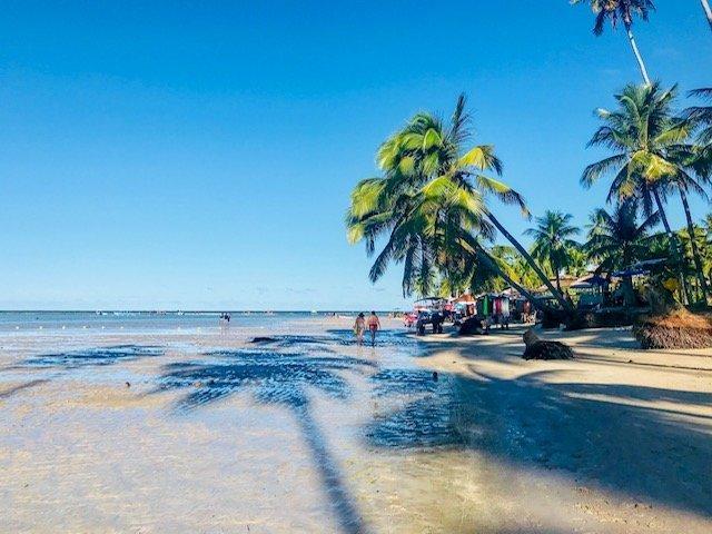 Praia Dos Carneiros No Final Da Tarde