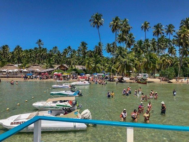 Praia Dos Carneiros Vista Do Catamarã