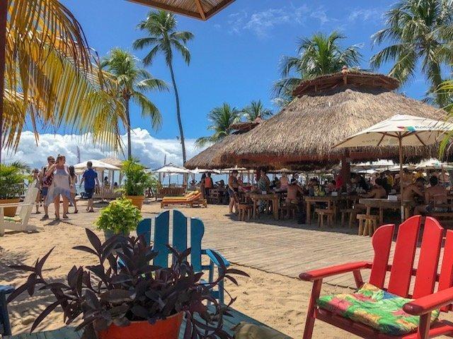 Restaurante Bora Bora Na Praia Dos Cerneiros