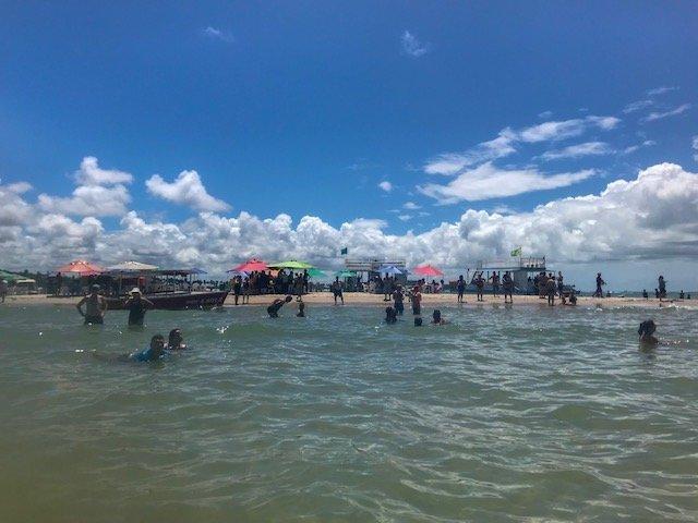 Banco De Areia Na Praia Dos Carneiros