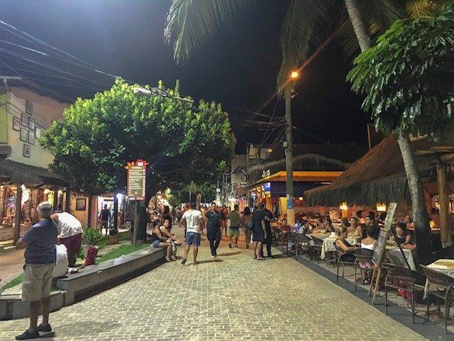 Vila De Porto De Galinhas A Noite