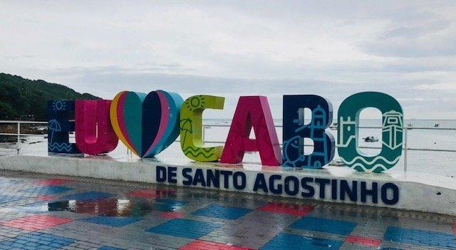 Letreiro Cabo De Santo Agostinho