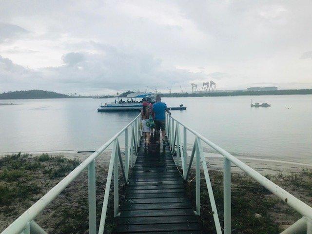 Pier Hotel Vila Galé Para Passeio De Catamarã