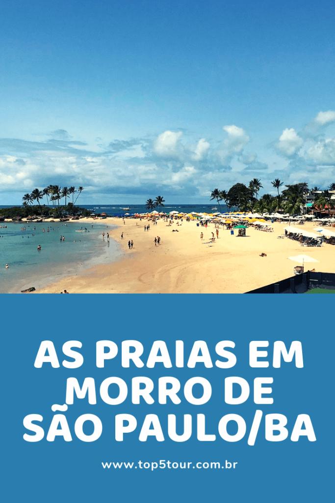 As Praias Em Morro De São Paulo (1)