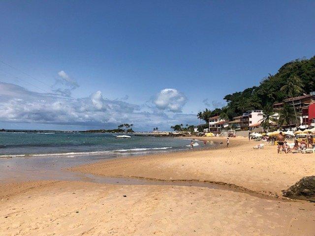 Primeira Praia - praias em morro de são paulo