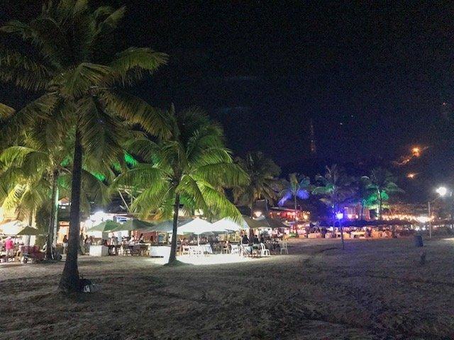 Restaurantes A Noite Na Segunda Praia
