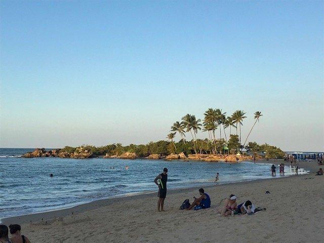 Segunda Praia E A Ilha Da Saudade - praias em morro de são paulo