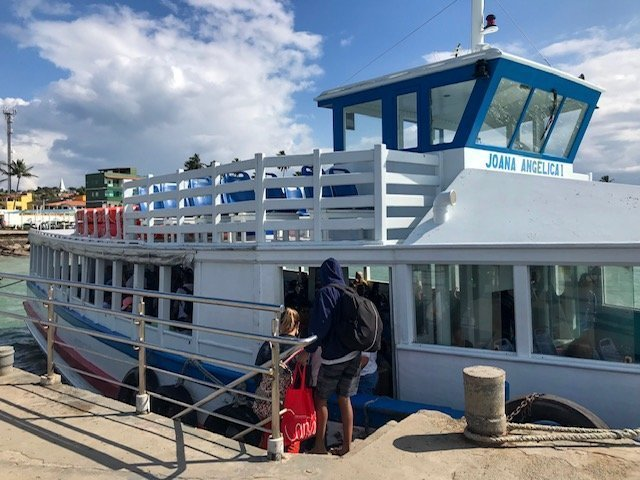 Um Dos Barcos Da Volta Para Salvador
