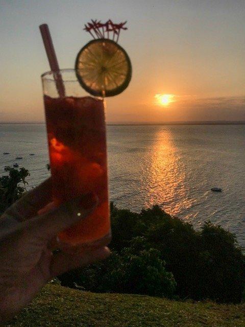 Drink + Por Do Sol Na Toca