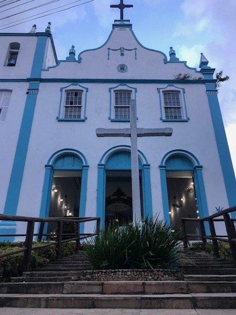 Igreja Nossa Senhora Da Luz o que fazer em morro de são paulo
