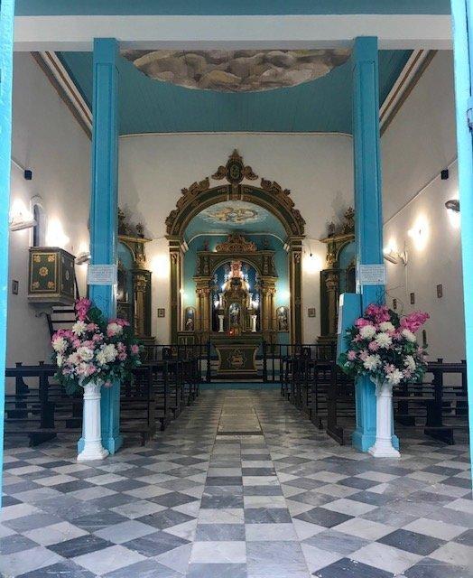 Igrejinha Morro De Sp Por Dentro