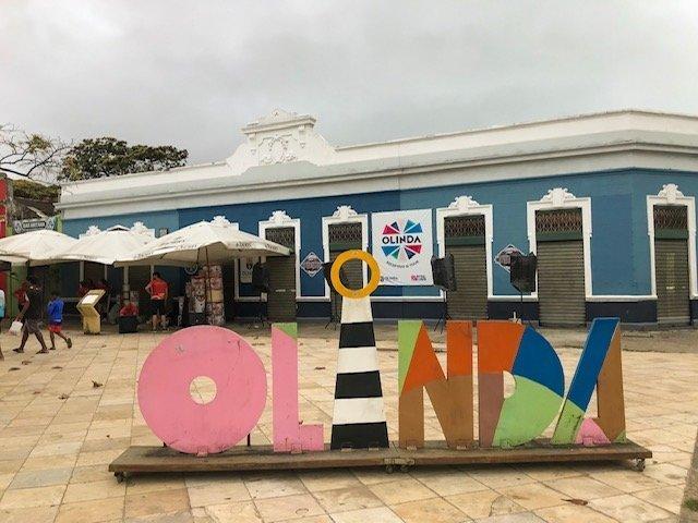 Letreiro De Olinda o que fazer em recife e olinda