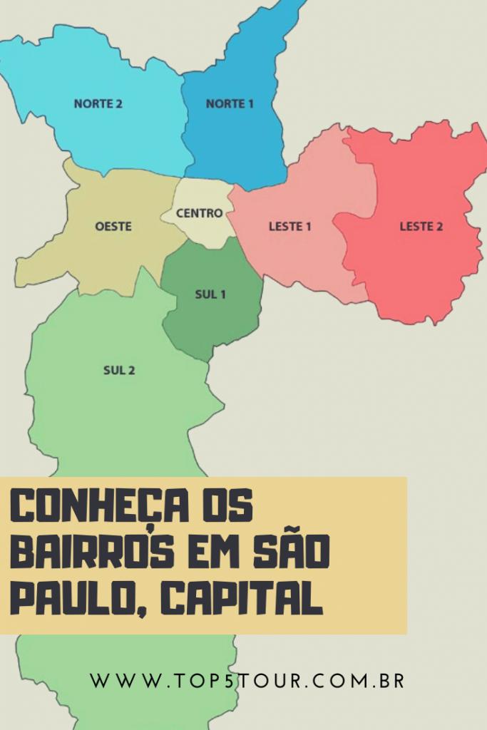 Conheça Os Bairros Em São Paulo, Capital
