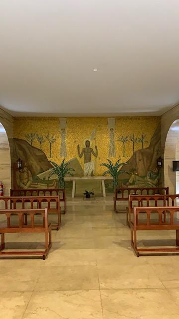 mosaico da capela Obelisco de SP