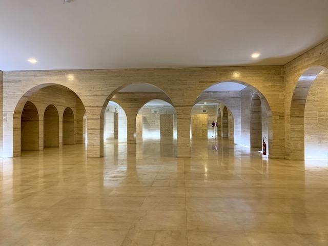 salao de marmore Obelisco do Ibirapuera