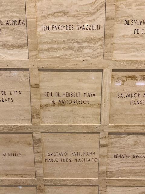 urna funeraria do meu bisavo - Obelisco dos Herois de 32