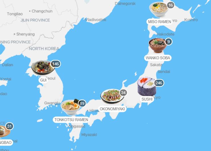 Sushi comida tipica no japao