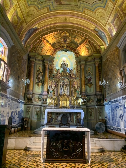 altar santuario do valongo
