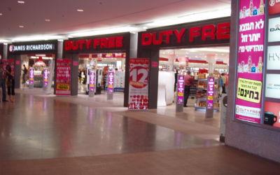 Aumento no limite de compras no free shop para os brasileiros