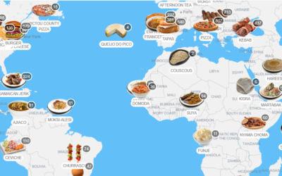 Comidas típicas pelo mundo, que tal conhecer?
