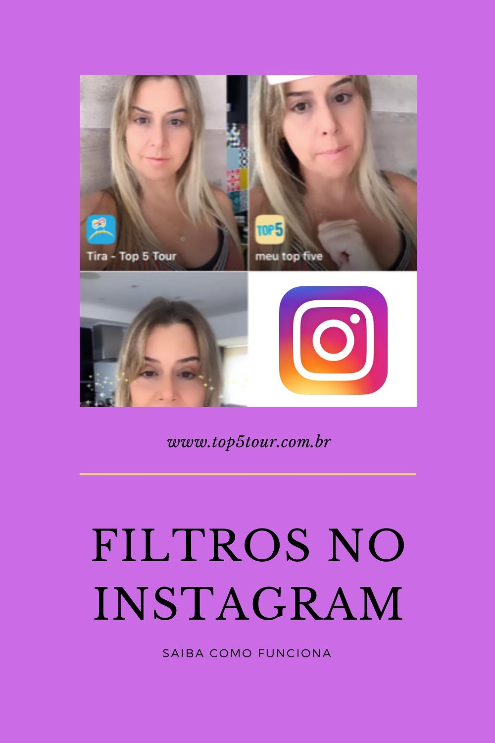 filtros do instagram