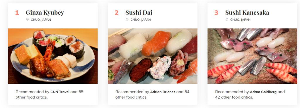 onde comer sushi