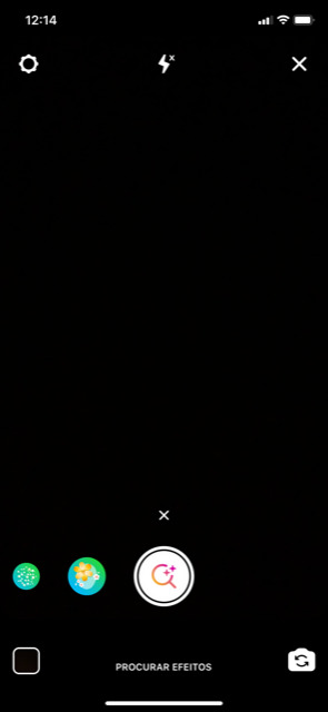 procurar filtros no instagram