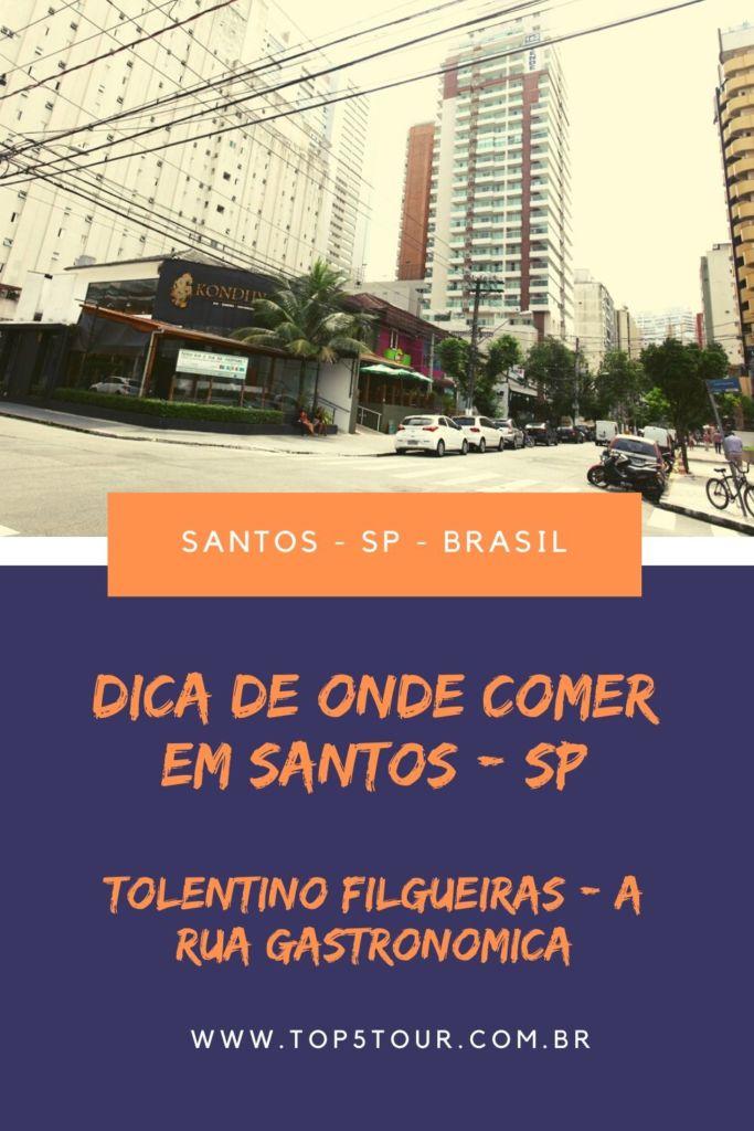 Rua Tolentino Filgueiras - rua gastronomica