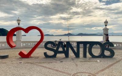 Passeio pela nova Ponta da Praia em Santos – SP