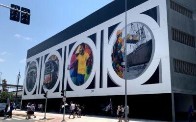 Mural do Kobra em Santos – SP: dica de passeio além da praia