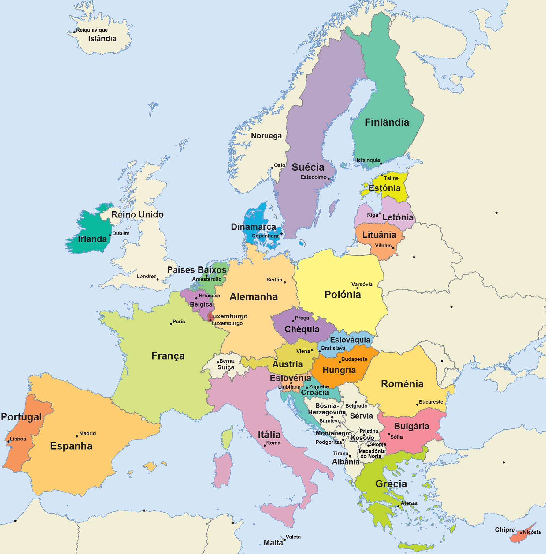 diferença entre europa e união europeia