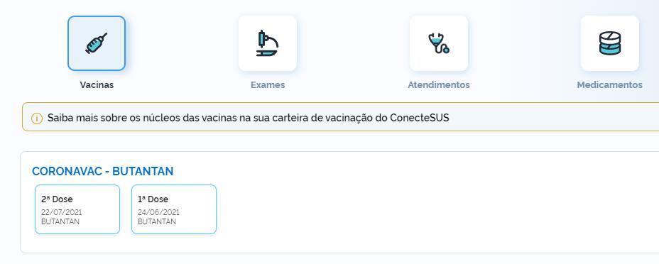 certificado de vacinação contra covid 19
