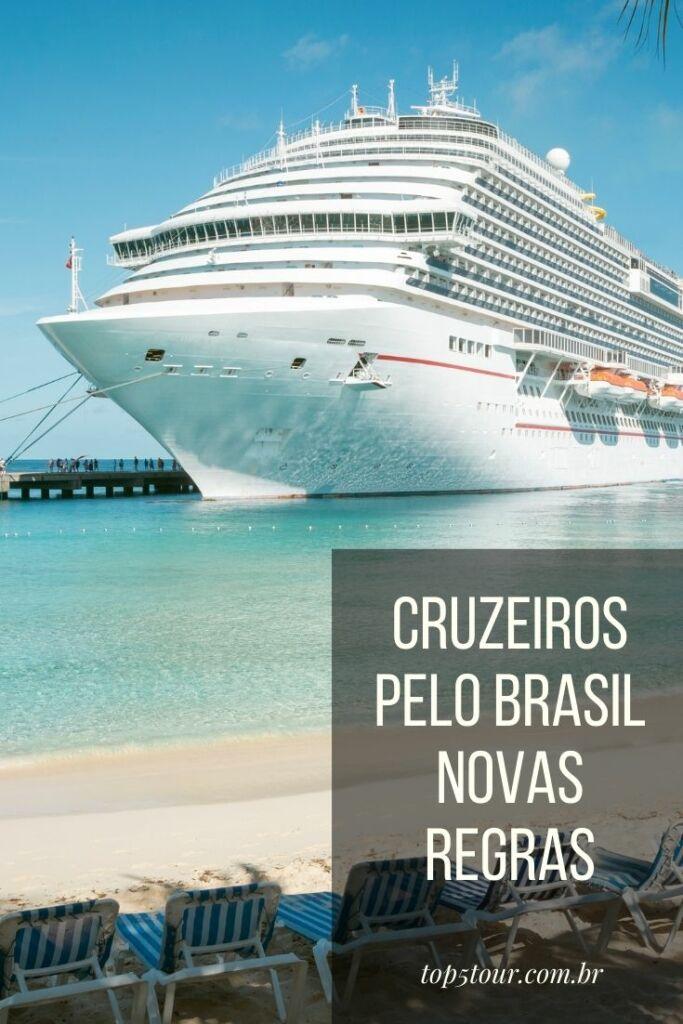 viagem de navio pelo brasil